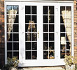 Larger openings can be accomodated using one or two sidelights.