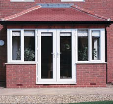 French doors are ideal for bays, conservatories or sunrooms.